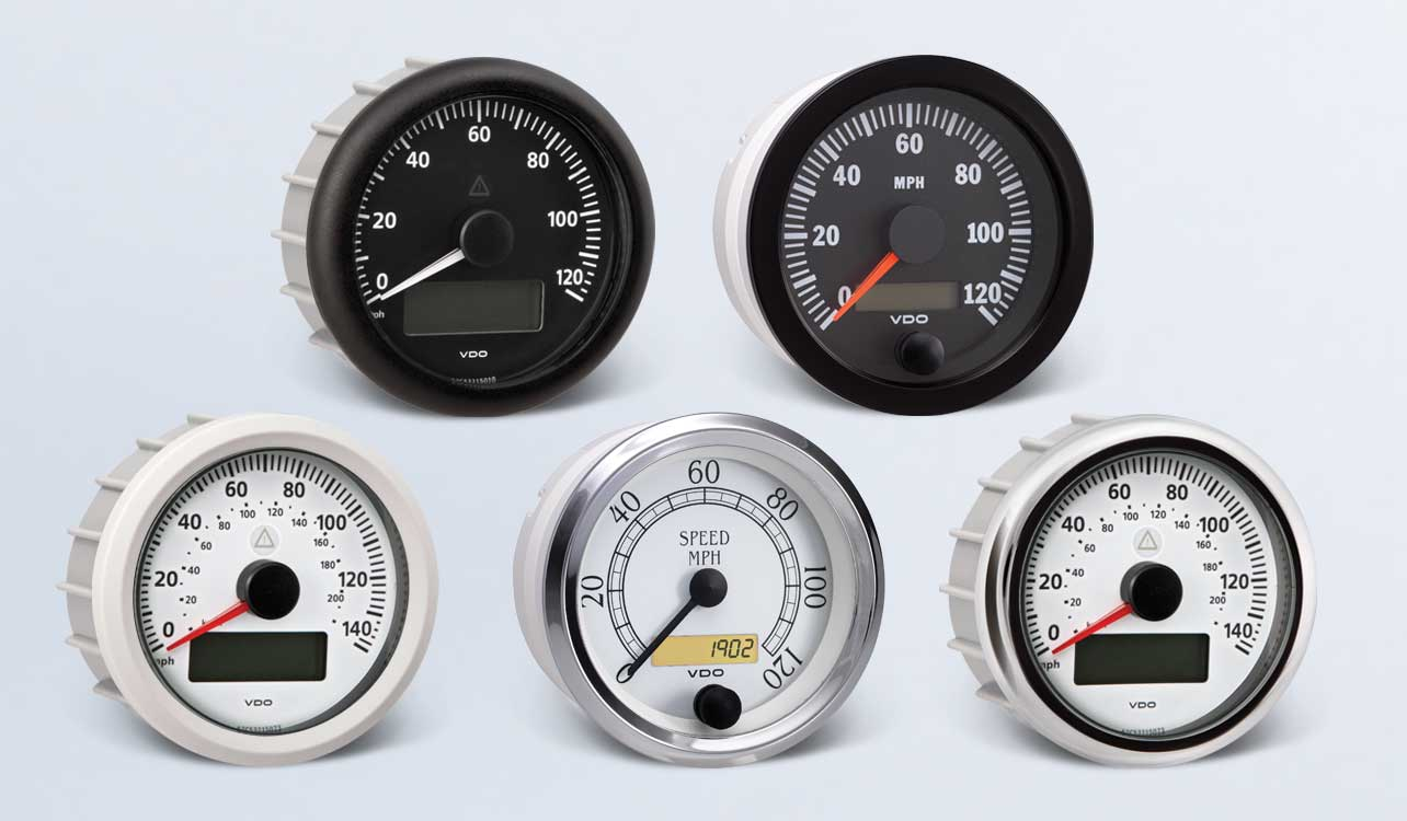 hight resolution of speedometer by type instruments displays and clusters vdo instruments and accessories