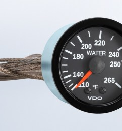 vision black 265 f mechanical water temperature gauge wit 72 capillary 12v  [ 1284 x 750 Pixel ]