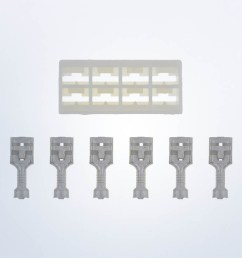 8 pole connector for vision cockpit and series 1 speedometers and tachometers with lcd wire wiring harnesses accessories service parts vdo  [ 1250 x 729 Pixel ]