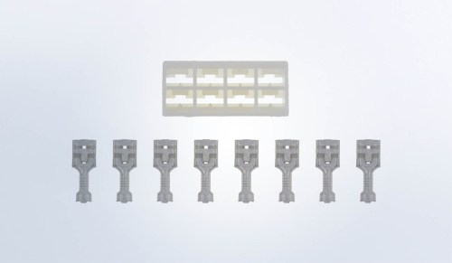 small resolution of 8 pole connector for vision cockpit and series 1 speedometers and tachometers with lcd wire wiring harnesses accessories service parts vdo