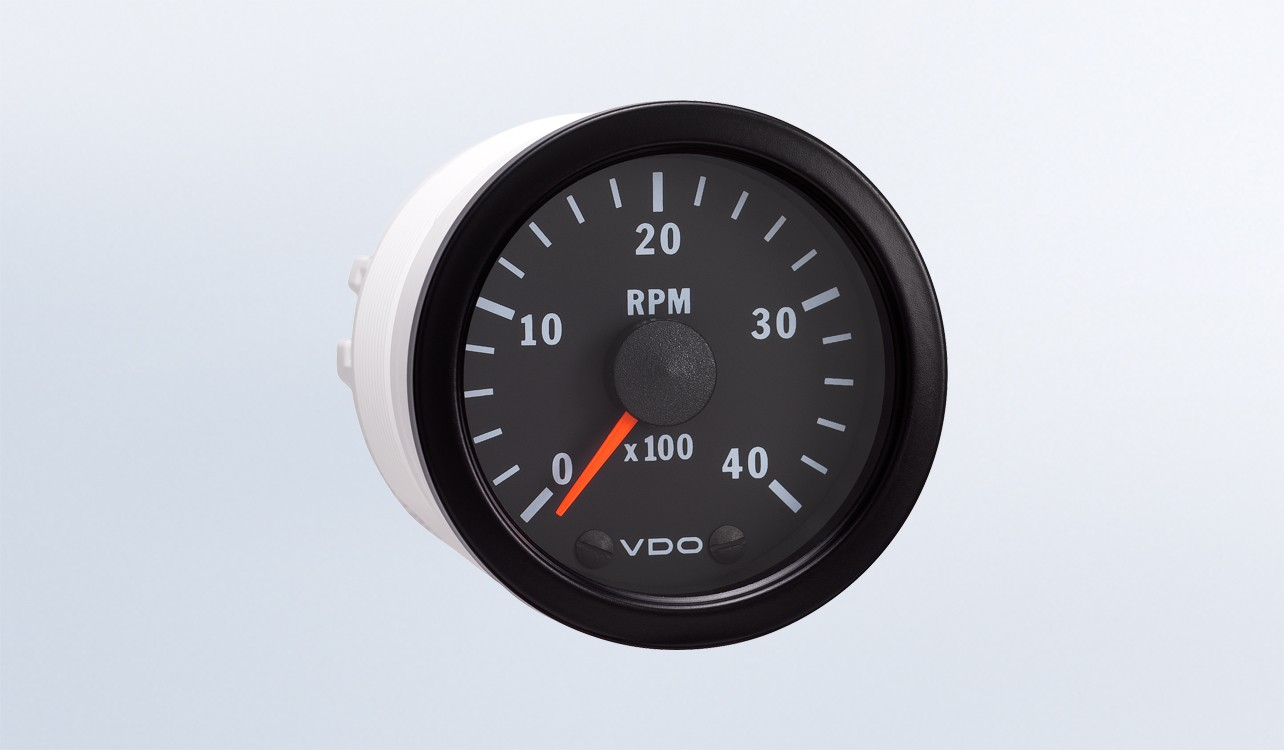 hight resolution of vision black 4 000 rpm 2 1 16 tachometer 12v programmable rh vdo gauges com vdo tachometer wiring diagram diesel motorcycle tachometer wiring diagram