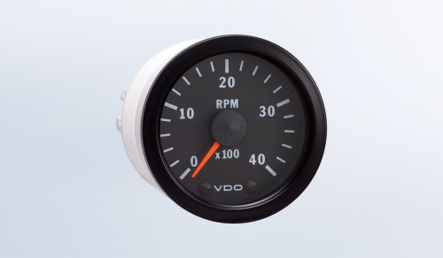 small resolution of vision black 4 000 rpm 2 1 16 tachometer 12v programmable rh vdo gauges com vdo tachometer wiring diagram diesel motorcycle tachometer wiring diagram