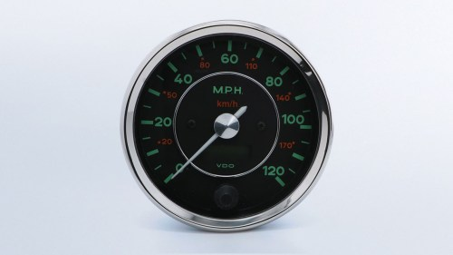 small resolution of 356 gauges 356 120mph 100mm speedometer vdo instruments and accessories