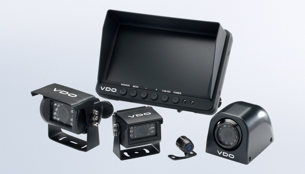 medium resolution of vdo vehicle cameras and screens