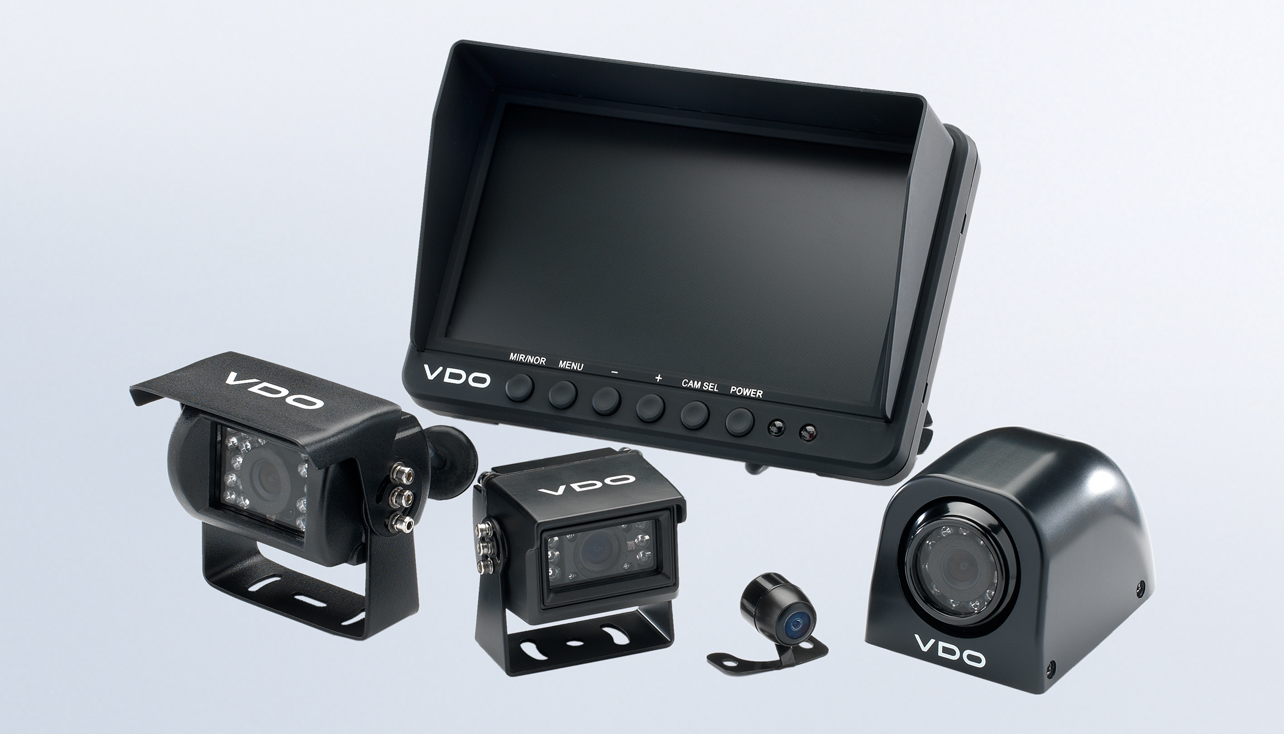 hight resolution of vdo vehicle cameras and screens