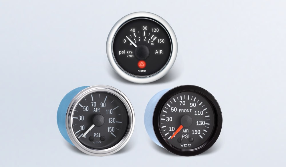 medium resolution of air pressure by type instruments displays and clusters vdo instruments and accessories