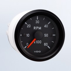Vdo Tachometer With Hour Meter Wiring Diagram Msd Pn 6425 Programmable Tachometers Cockpit International By Series 6 000 Rpm 2 1 16 52mm
