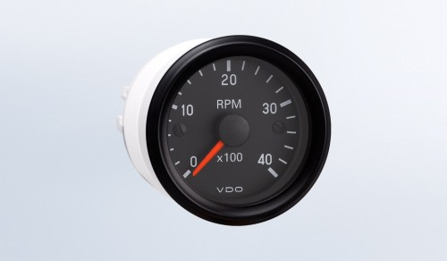 small resolution of cockpit international 4 000 rpm 2 1 16 52mm tachometer