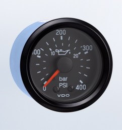cockpit international 400 psi 25 bar mechanical oil pressure gauge 12v [ 1284 x 750 Pixel ]