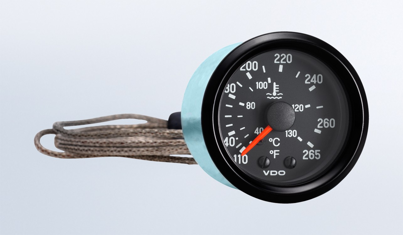 hight resolution of cockpit international 265 f 130 c mechanical temperature gauge with 96 capillary 12v water temperature by type instruments displays and clusters