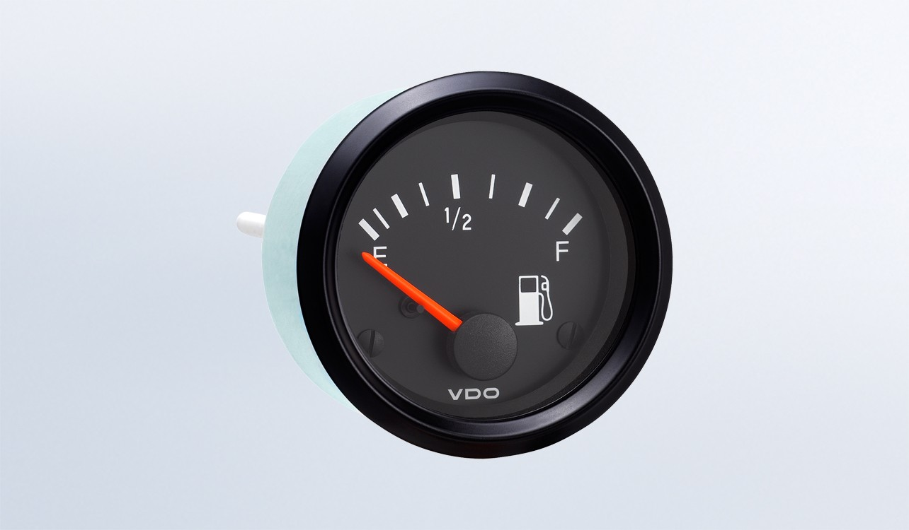 hight resolution of cockpit international fuel gauge use with vdo tube type sender 24v 250 spade connection instruments displays and clusters vdo instruments and