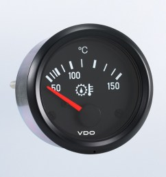 cockpit international 150 c gear temperature gauge use with vdo sender 12v  [ 1284 x 749 Pixel ]