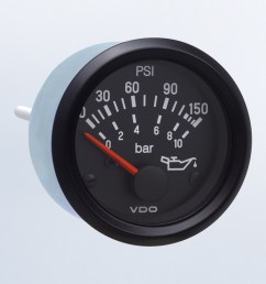 cockpit international 150 psi 10 bar oil pressure gauge use with vdo sender 24v m4 stud connection oil pressure cockpit international by series  [ 1284 x 750 Pixel ]
