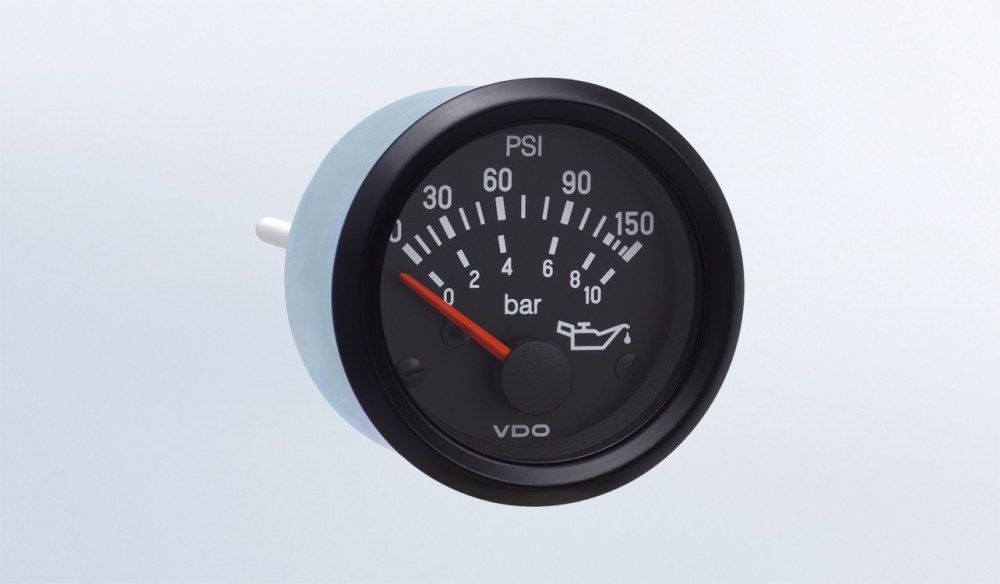 medium resolution of cockpit international 150 psi 10 bar oil pressure gauge use with vdo sender 24v m4 stud connection oil pressure cockpit international by series