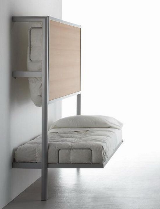 achitonic.com La Literal Folding Bunkbed by Sellex