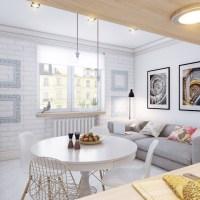 Pochi metri per una casa in perfetto stile scandinavo