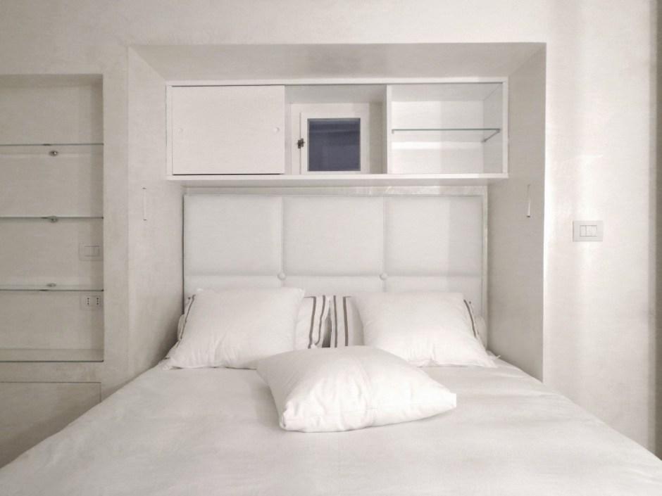 camera da letto in nicchia