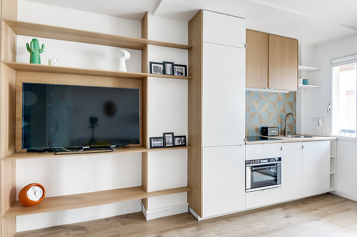 Cucina e Tv Foto : Meero