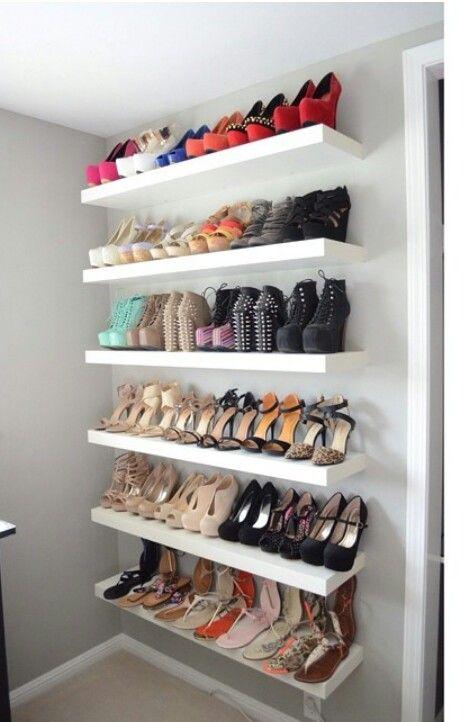 organizzare le scarpe