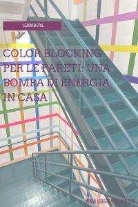 color blocking pareti