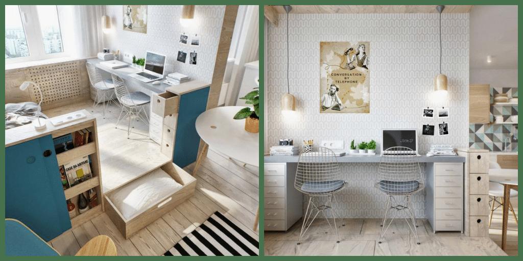 Quattro idee salvaspazio per organizzare l'ufficio in casa ...