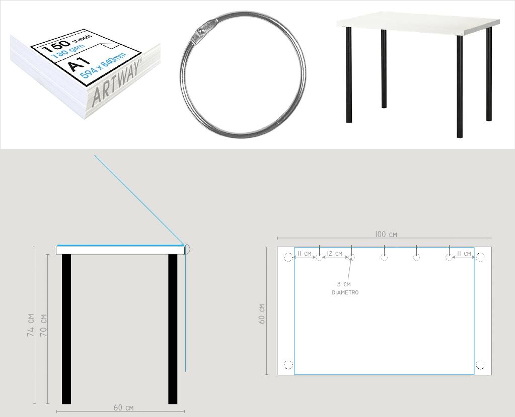 Disegnare Una Scrivania.Idea Da Copiare Una Scrivania Per Disegnare A Prova Di