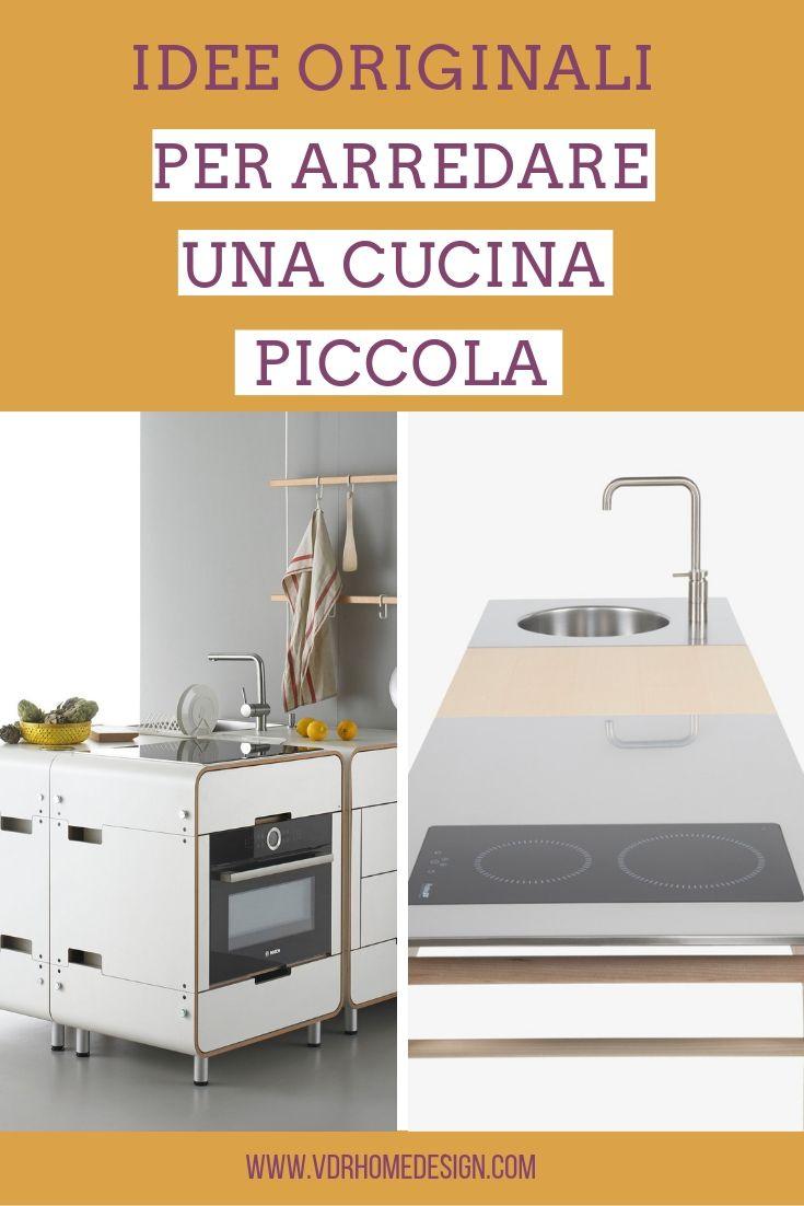 Idee originali per arredare una cucina piccola