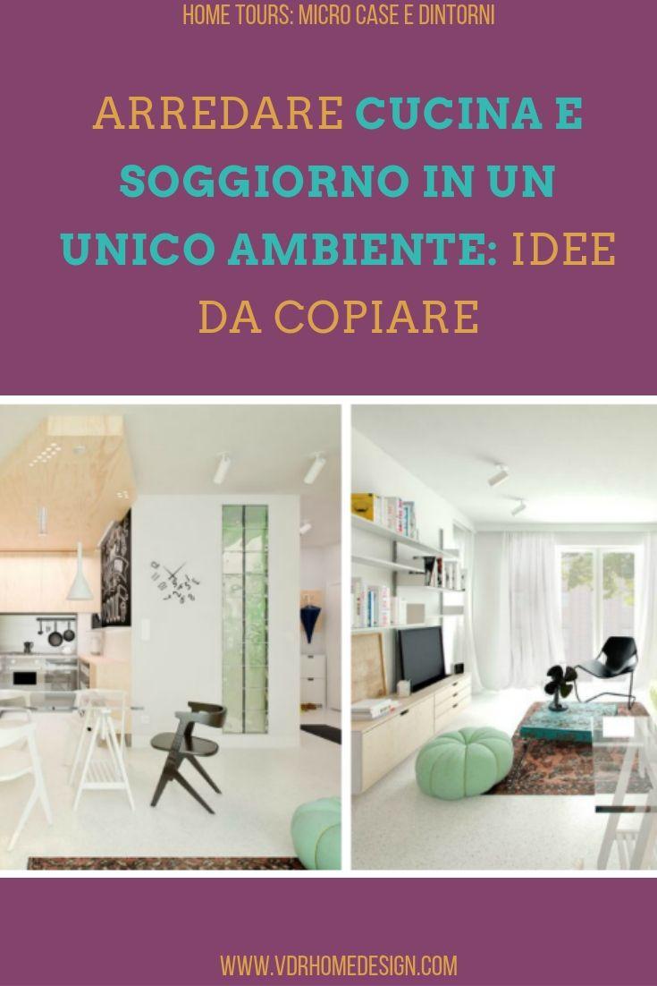 Arredare cucina e soggiorno in un unico ambiente: idee da copiare
