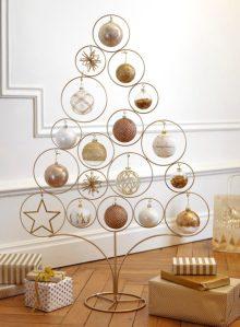 albero di Natale in alluminio