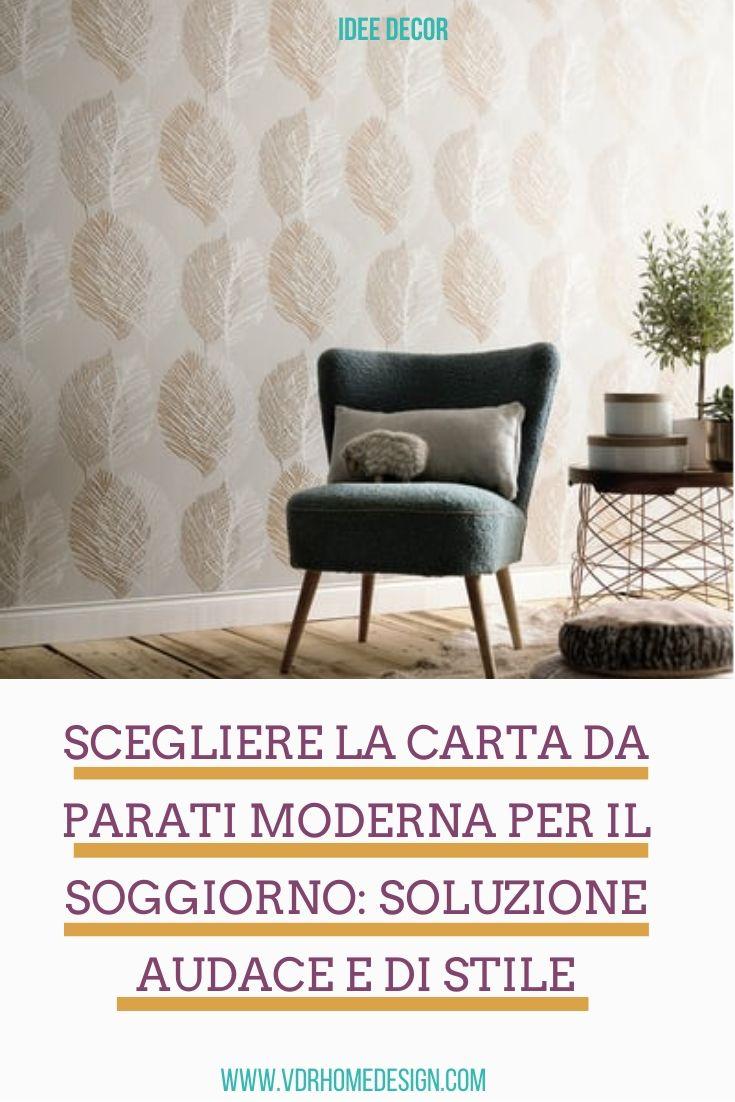 Idee per un soggiorno minimalista sponsorizzato. Scegliere La Carta Da Parati Moderna Per Il Soggiorno Soluzione Di Stile
