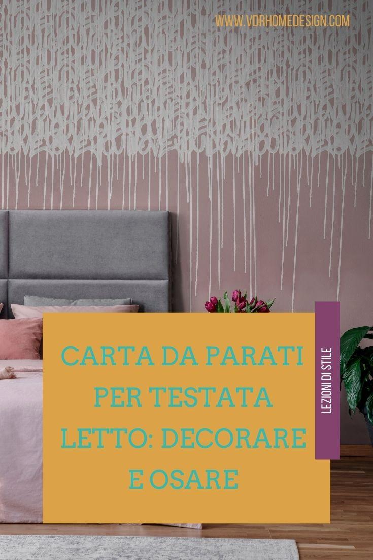 Inoltre è possibile dare un tocco di colore alle pareti della vostra stanza da letto anche con la carta da parati: Carta Da Parati Per Testata Letto Sei Scelte Audaci Ma Di Gusto