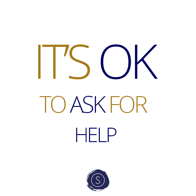 IT'S OK TO ASK FOR HELP - Hulp