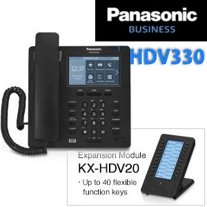 Panasonic-KX-HDV330-IP-Phone-Dubai-AbuDhabi-UAE