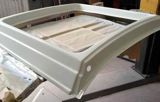 getting the rear section of the westfalia roof looking as new again