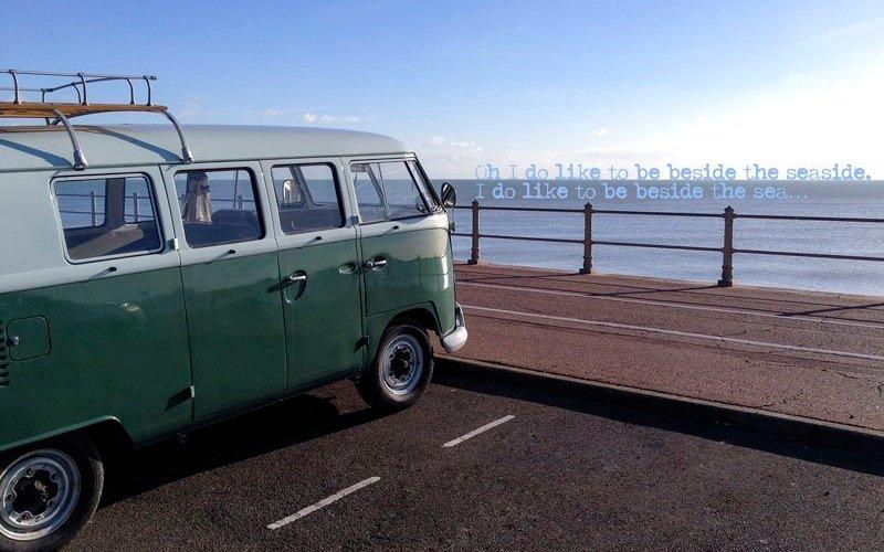 Oh I do like to be beside the seaside, I do like to be beside the sea...