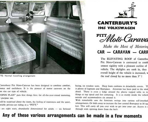 the original Canterbury Pitt table also provided the bridge/support for the various bed layouts