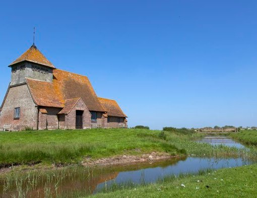 Fairfield Church in Romney Marsh