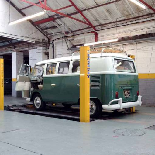 time for the splitty to get its annual MOT…