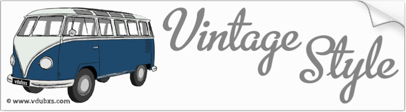 The ultimate in vintage style, a deluxe Samba camper van in Sea Blue and Blue White