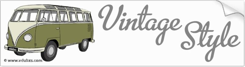 The ultimate in vintage style, a deluxe Samba camper van in Mango and Seagull Grey
