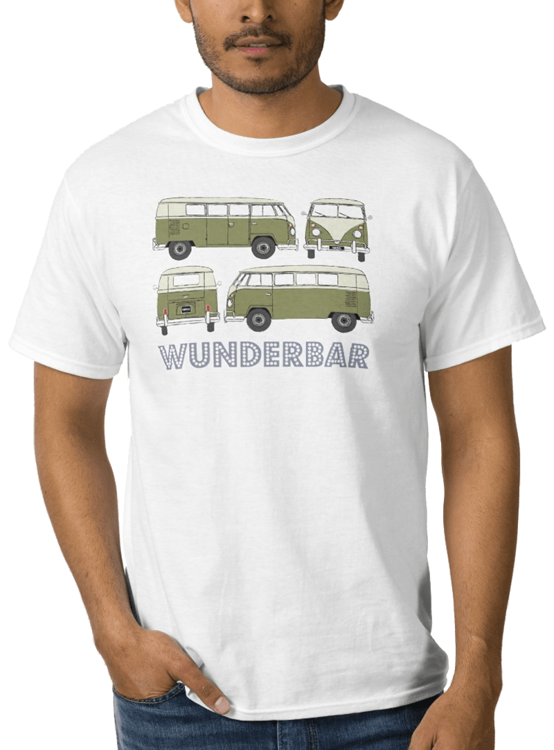 Wunderbar – the iconic camper van is wonderful whichever way you look at it!