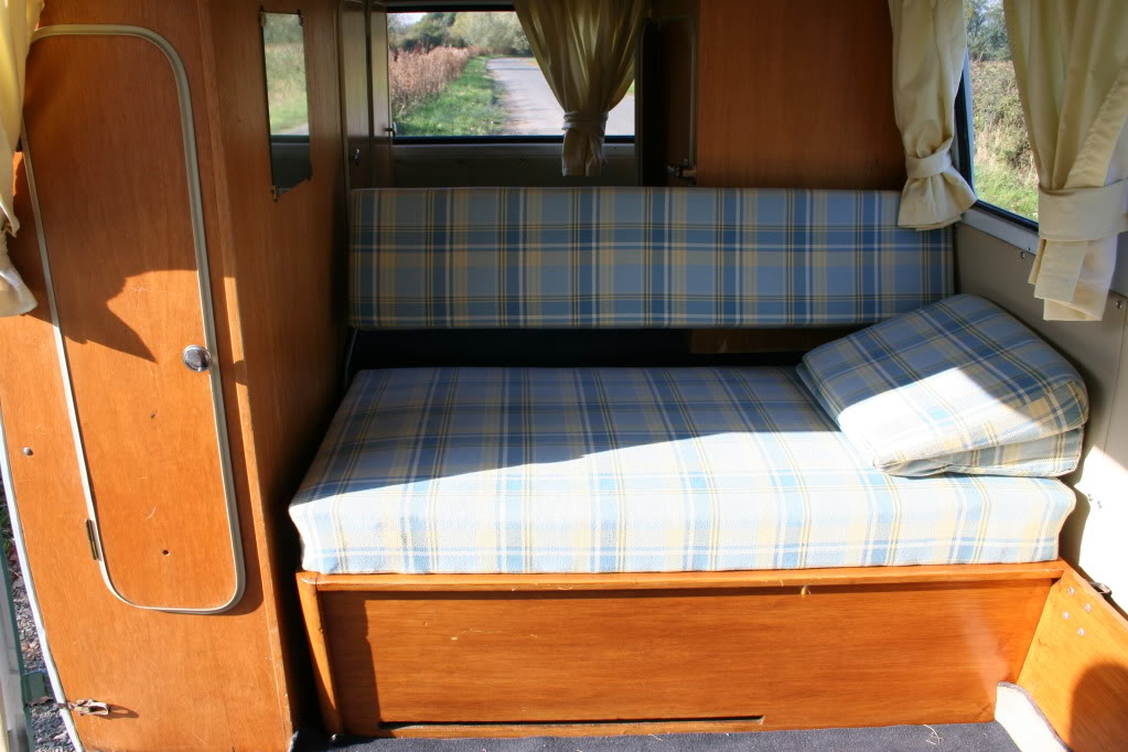 original Westfalia Mosaik interior