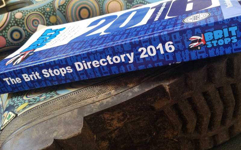 be prepared – Brit Stops directory and wellies