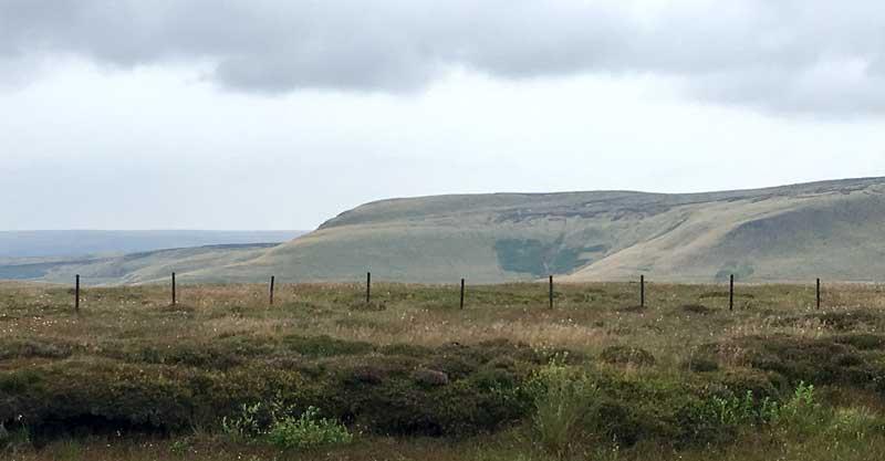 the Peak District has a bleak wilderness type of beauty to it