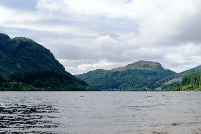 the serene beauty of Loch Lubnaig