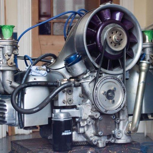 BAS Ahnendorp built 2.4 litre type 4 engine