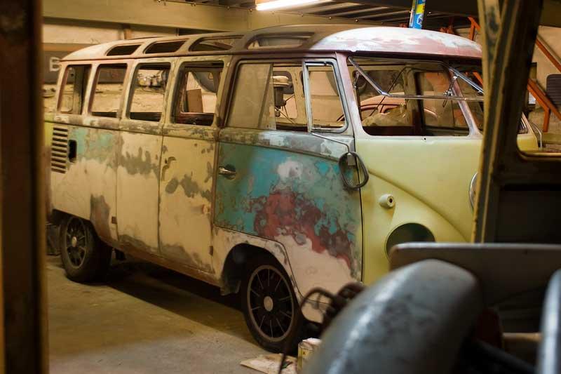 1962 23 Window Samba in progress…