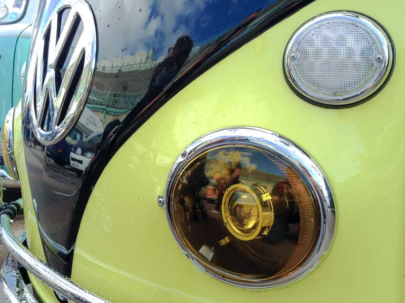 vintage tech upgraded to LED and HID lighting systems