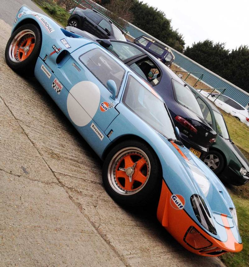 Ford GT40 in Gulf colours… nice!