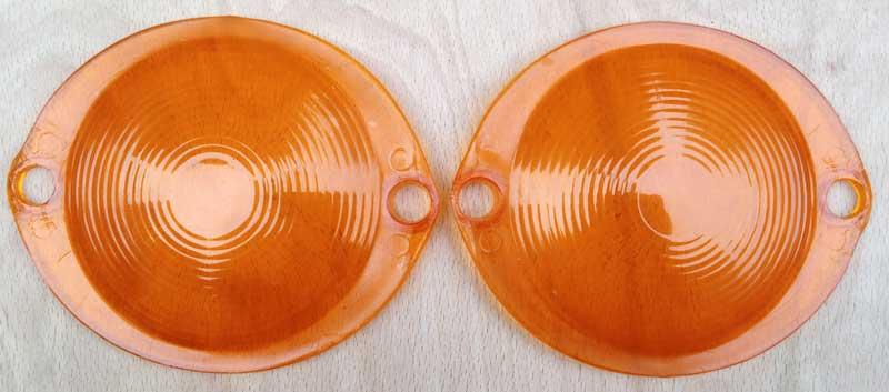orange fisheye indicator lenses 64-67